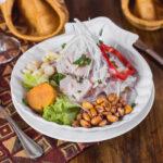 El ceviche de pescado peruano, un gran sabor para compartir en familia
