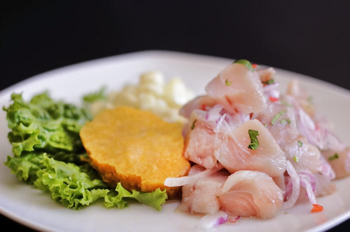 receta de Ceviche de Pescado Colombiano